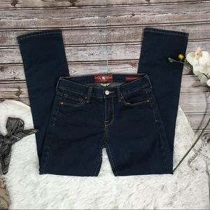 LUCKY BRAND Sophia Straight Denim Blue Jeans 2/26